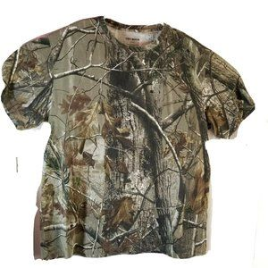 Ten Buck Realtree Camoflage Shirt All Over Graphic